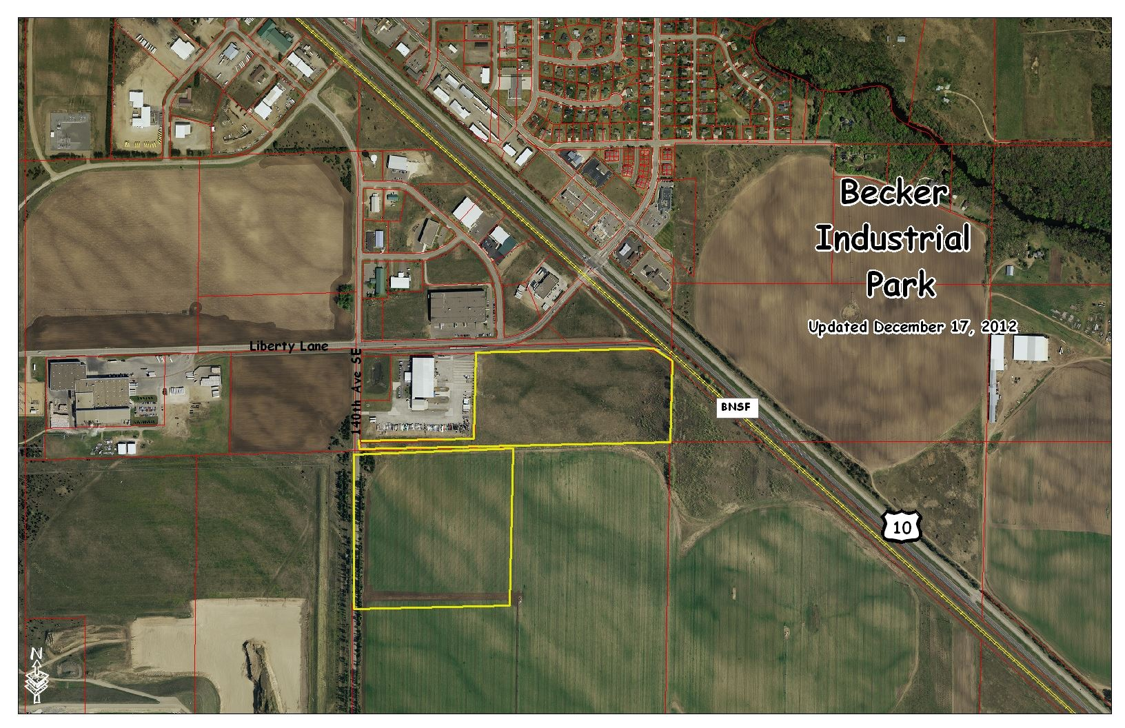 2012 Industrial Park Aerial Photo