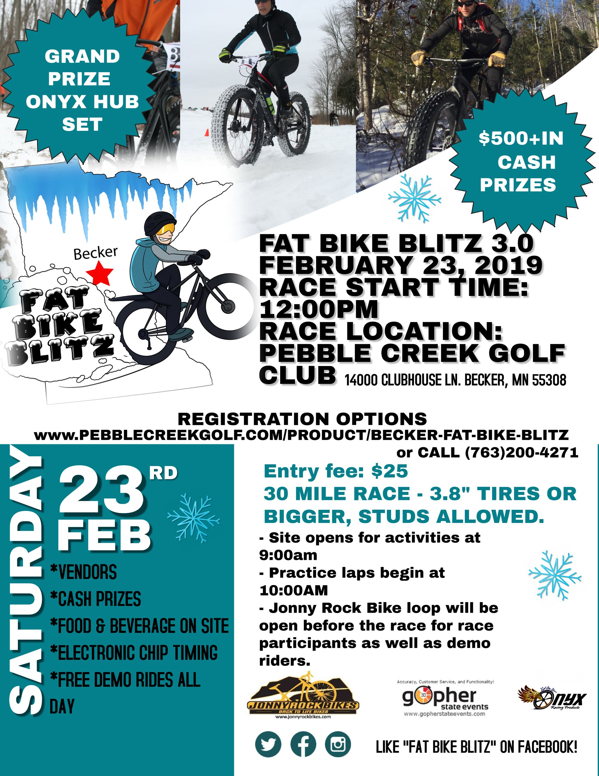 FAT BIKE BLITZ 2019 FLYER
