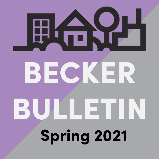 2021 Spring Web Ad Photo Becker Bulletin
